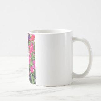 庭からの花 コーヒーマグカップ