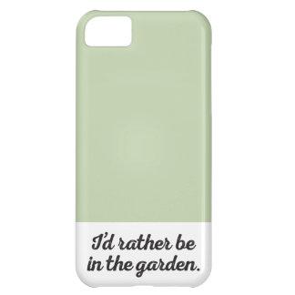 庭にむしろあって下さい iPhone5Cケース