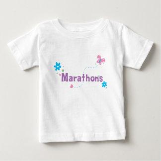 庭のなびきマラソン ベビーTシャツ