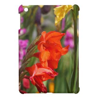 庭のグラジオラス(グラジオラスXのhortulanus) iPad Miniカバー
