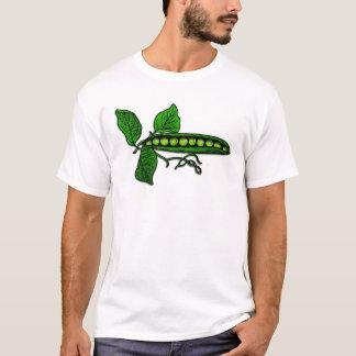 庭のグリーンピースのポッド Tシャツ