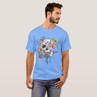 庭のスカルライトTシャツ Tシャツ