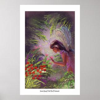 庭のニンフ ポスター