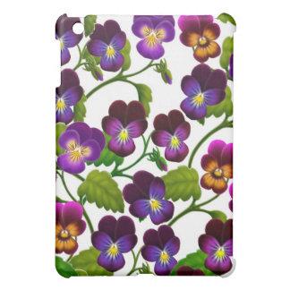庭のパンジーの花のSpeckの場合 iPad Mini Case
