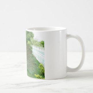 庭のマグの孔雀 コーヒーマグカップ