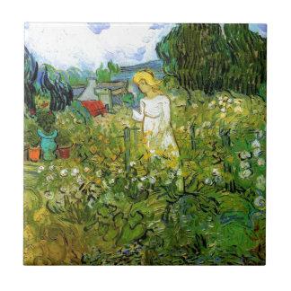 庭のマーガレットGachet タイル
