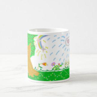 庭の写真のマグ コーヒーマグカップ