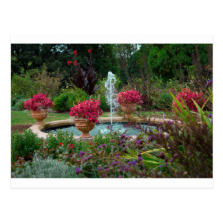 庭の噴水 ポストカード