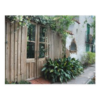 庭の壁©2008 ポストカード