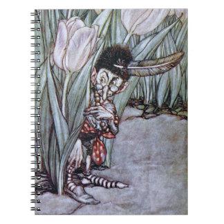 庭の妖精 ノートブック