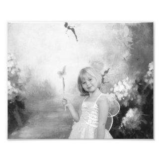 庭の妖精 フォトプリント