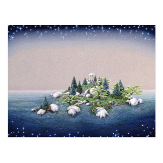 庭の島 ポストカード