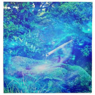 庭の平静 ナプキンクロス