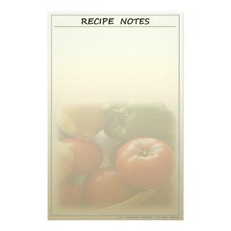 庭の新しいレシピの文房具 便箋
