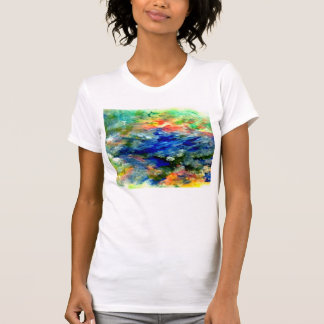 庭の池 Tシャツ