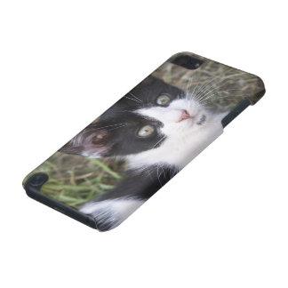 庭の白黒猫の子ネコ iPod TOUCH 5G ケース
