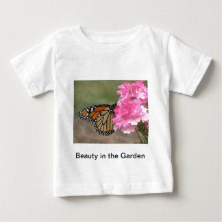 庭の美しい ベビーTシャツ