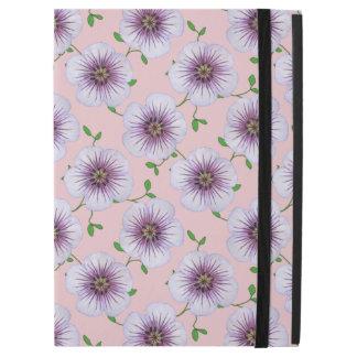 """庭の色の淡いブルーのゼラニウムの花 iPad PRO 12.9"""" ケース"""
