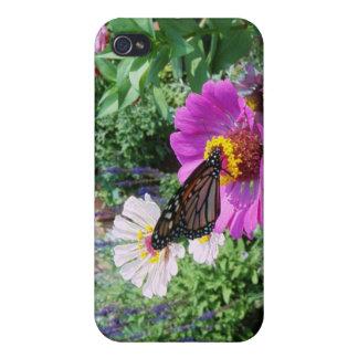 庭の蝶 iPhone 4/4S カバー