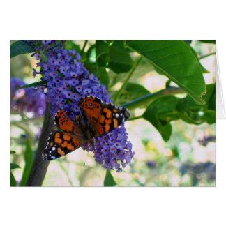 庭の訪問者 カード