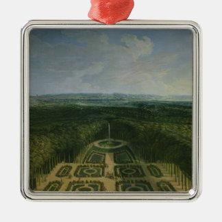 庭の遊歩道ルイ14世壮大の メタルオーナメント