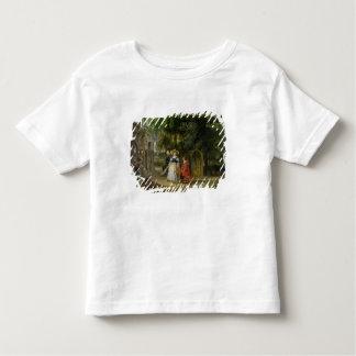 庭のRubensおよびヘレンFourment トドラーTシャツ
