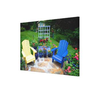 庭は私達の庭Sammamish、4で設計します キャンバスプリント