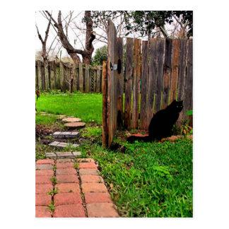 庭ゲート ポストカード