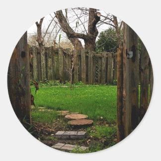 庭ゲート ラウンドシール