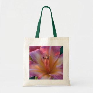 庭ユリの花のトートバック トートバッグ