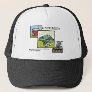 庭師によって定義される帽子 キャップ