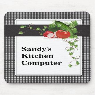 庭師のコンピュータマウスパッド マウスパッド