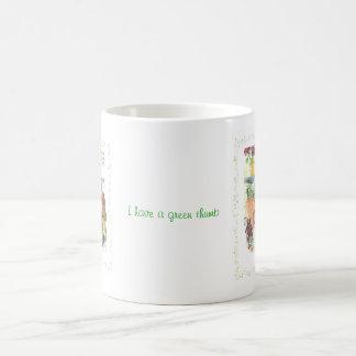 庭師のテディー・ベア コーヒーマグカップ