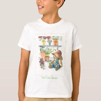 庭師のテディー・ベア Tシャツ