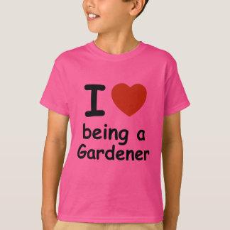 庭師のデザイン Tシャツ