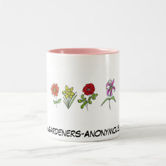 庭師の匿名のマグ ツートーンマグカップ