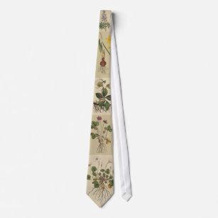 庭師の植物のタイ ネクタイ