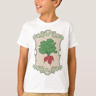 庭師の歓喜のラディッシュ Tシャツ