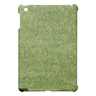 庭師の草の芝生のmaintencanceの芝生の心配の泥炭 iPad miniカバー