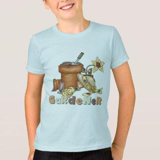 庭師のTシャツおよびギフト Tシャツ