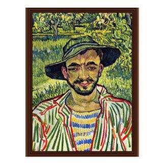庭師(より頻繁に: ヴィンチェンツォ著若い小作人 ポストカード