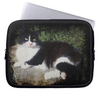 庭猫のネオプレンのラップトップスリーブの女王 ラップトップスリーブ