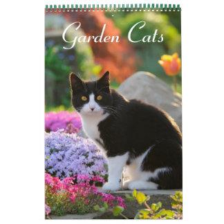 庭猫2017のサイズ媒体 カレンダー