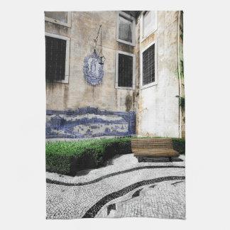 庭-リスボンの台所タオル ハンドタオル