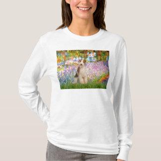 庭-ワイヤーフォックステリア犬3 Tシャツ