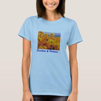 庭、日光及び忍耐… Tシャツ