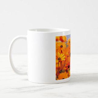 庭- CopieのGUIのaimeのlesのフルーア コーヒーマグカップ