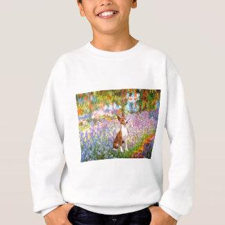 庭(Monet) - Basenji スウェットシャツ