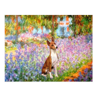 庭(Monet) - Basenji ポストカード