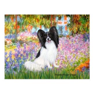 庭- Papillon 1 ポストカード